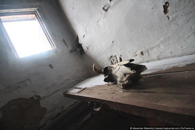 Заброшенная тюрьма на русском севере