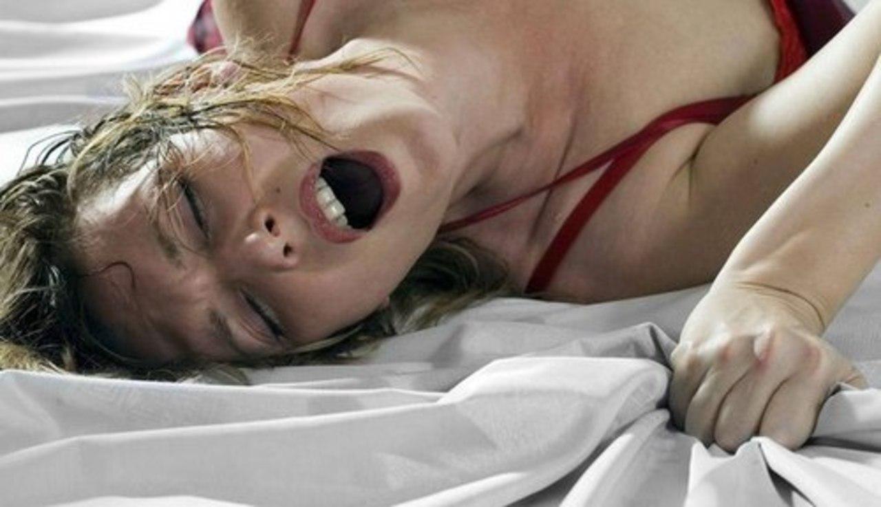 женский оргазм видео показать