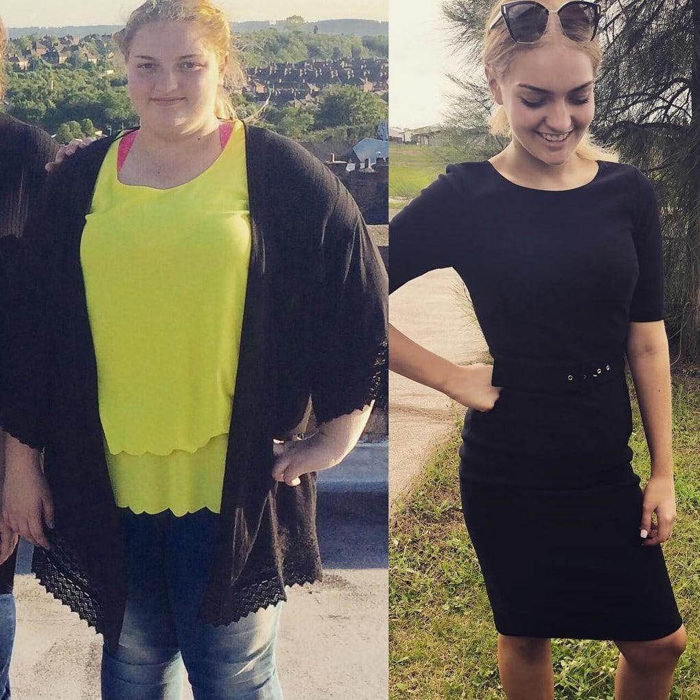 Девушке удалось похудеть