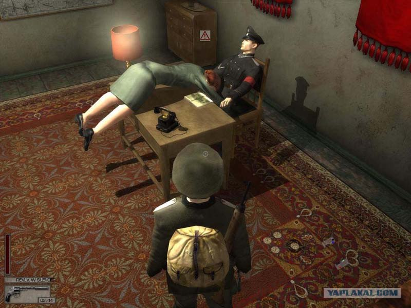 Скачать игру смерть шпионам 2 (1,76 гб).