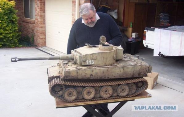 Большой танк своими руками