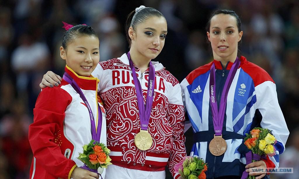 КатегорияОлимпийские чемпионы по спортивной гимнастике