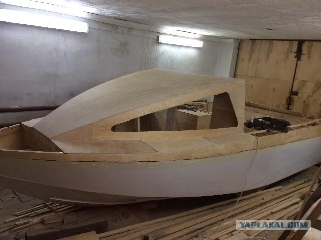 Опыт строительства моторной лодки из фанеры