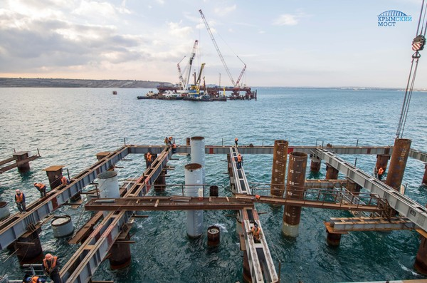 Строители Керченского моста подвели итоги весеннее - летнего сезона
