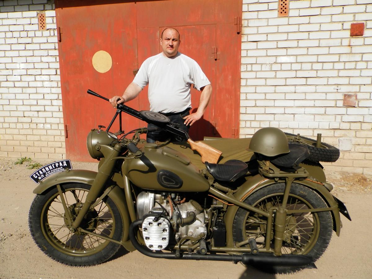 Кто в какой цвет красил мотоцикл