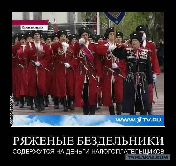ряженые казаки смешные картинки была