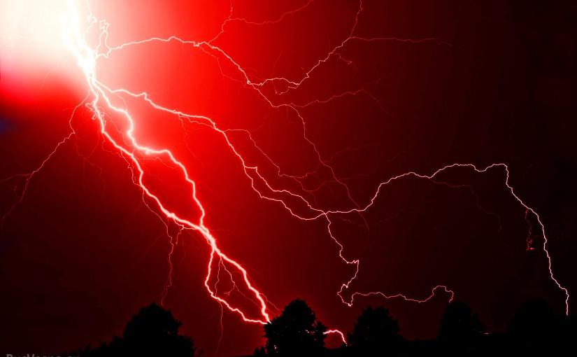 Молния ударила в половой член