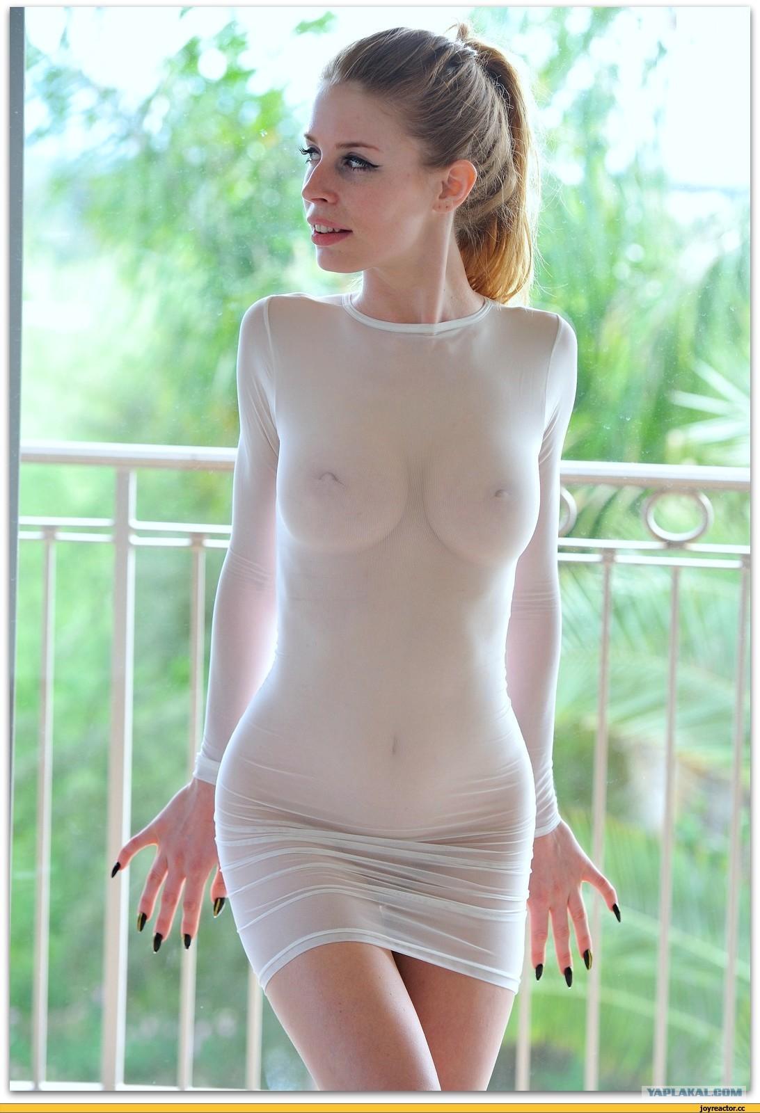 Эротика просвечивает платье фото 186-759