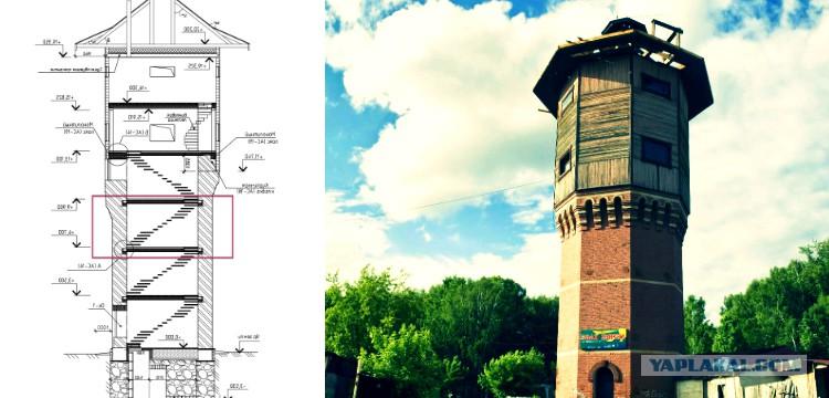 Перекрытие водонпорной башни