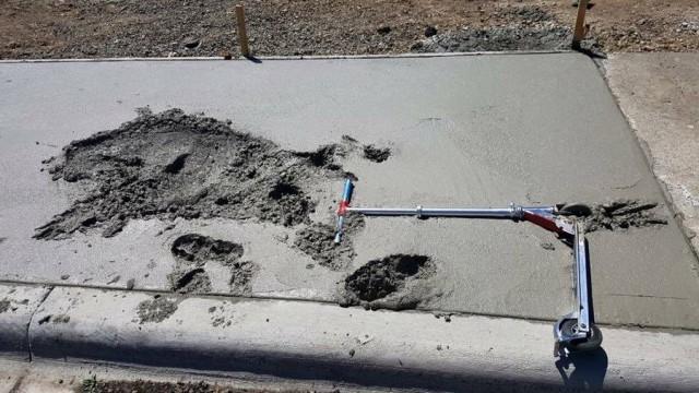 Неизбежное для бетона.
