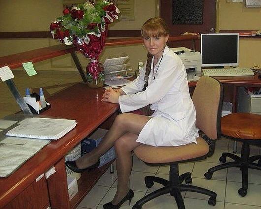 Ножки медсестричок