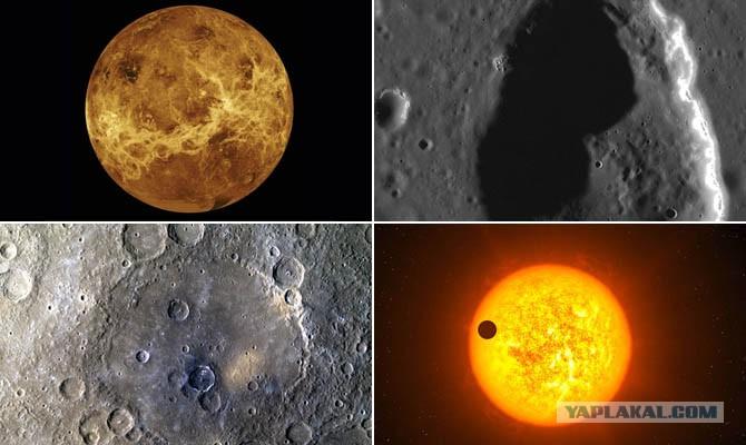 Схема планеты меркурий