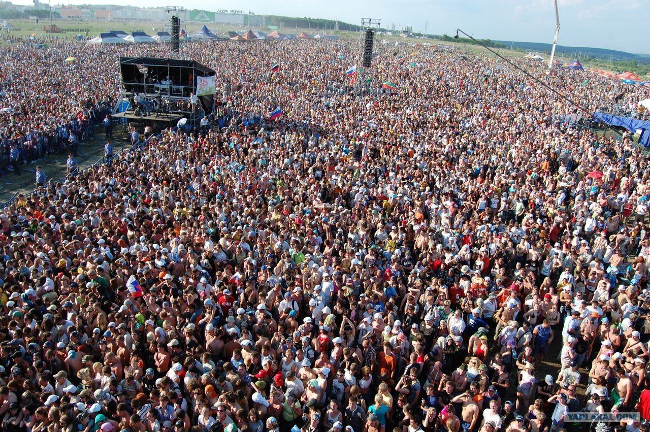 Самые большие концерты в мире фото