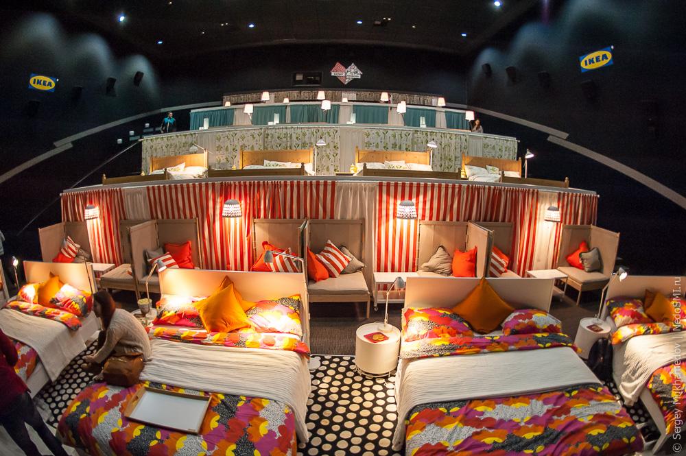 кинотеатр с диванами в москве адреса фото российском
