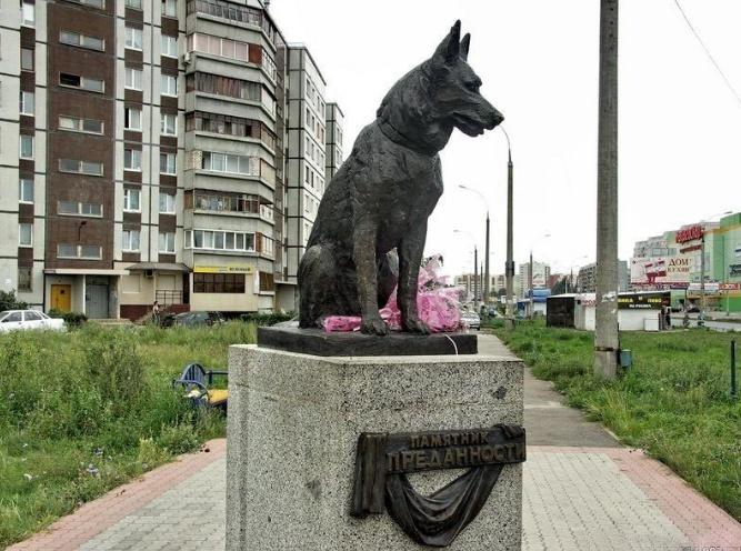Памятник верной собаке в россии услуги по изготовление памятников г владимир