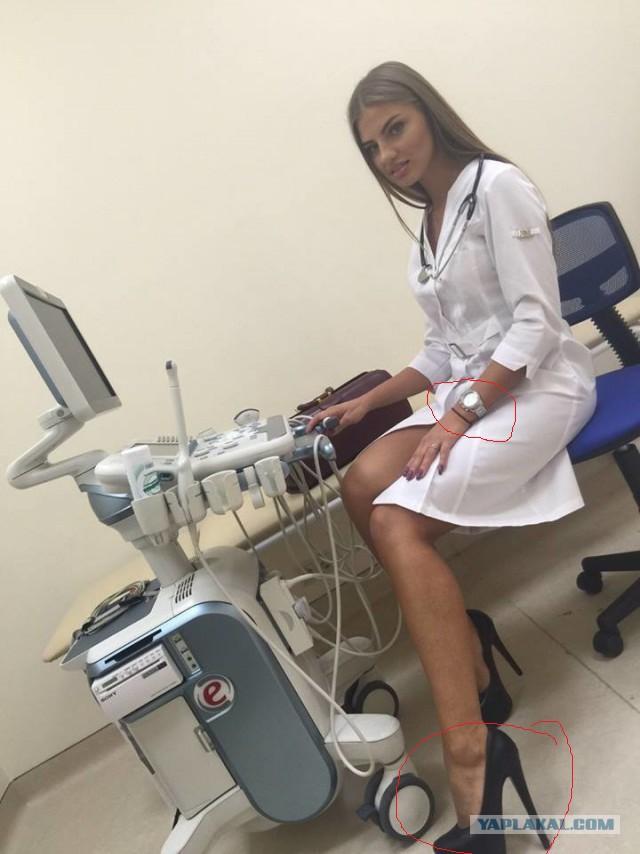 Сексапильный доктор в рекламе клиники вызвала споры о её профпригодности