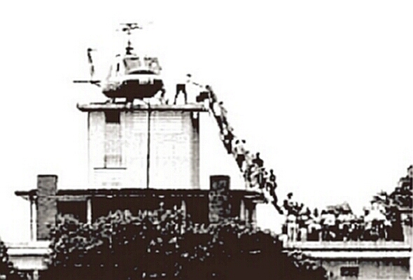 Операция «Порывистый ветер».Как американцы бежали из Сайгона.