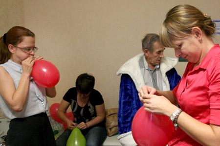 Сценарий нового года в доме для престарелых мероприятия ко дню победы в доме престарелых