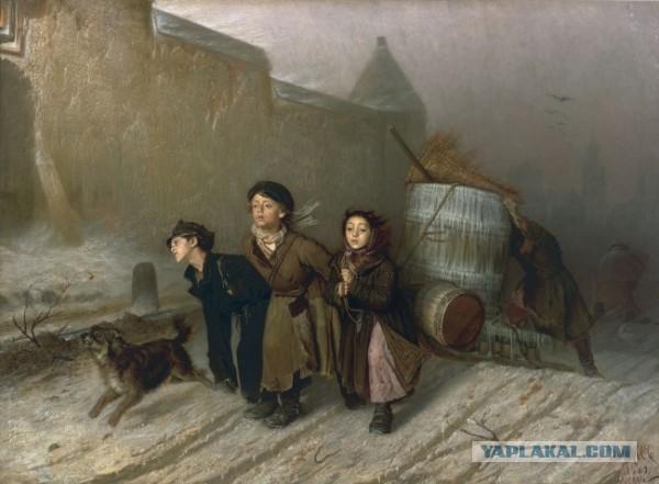 Правда и вымысел в «Бурлаках на Волге»: каким на самом деле был бурлацкий труд
