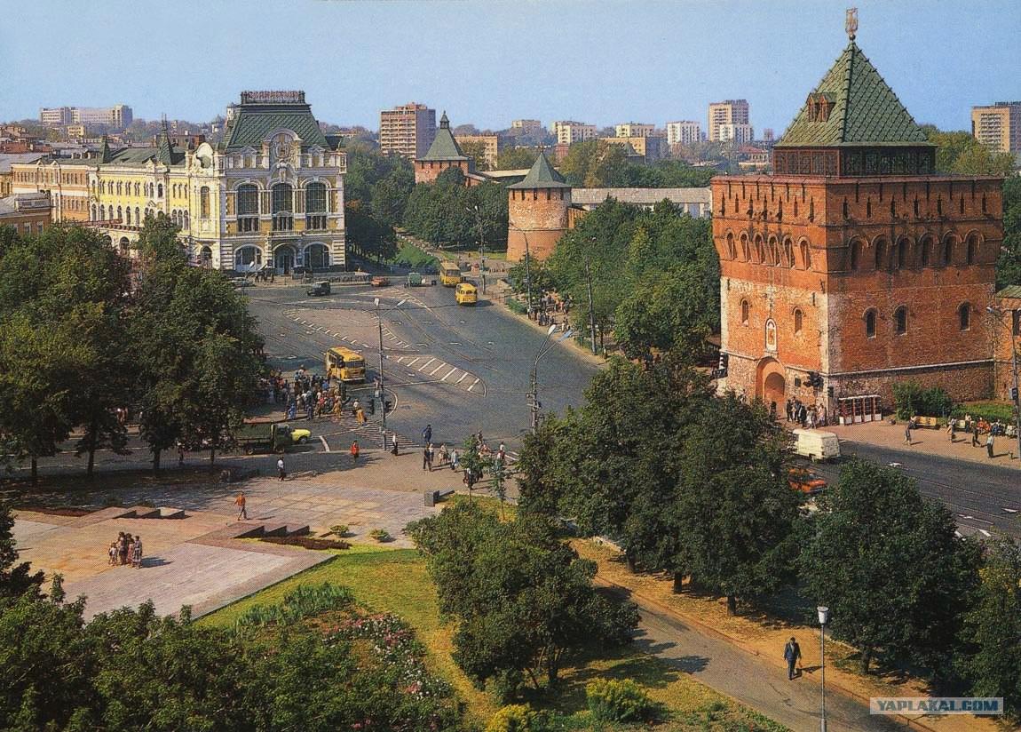 теперь фотографии города горького труду конструкторов