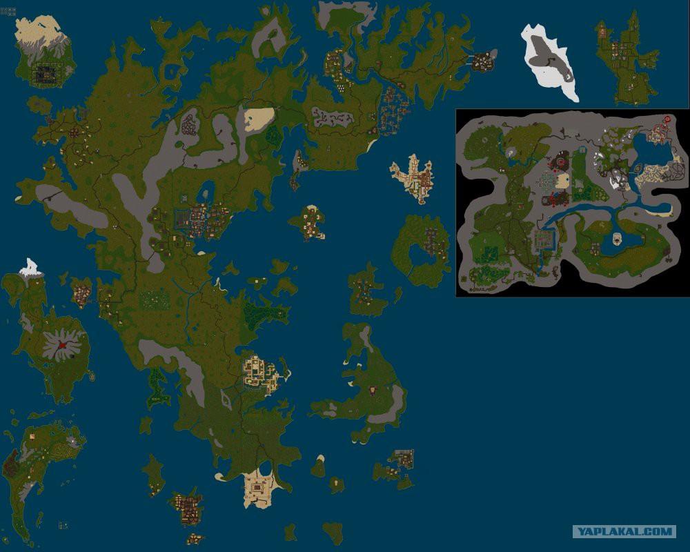 майнкрафт карта мира #11