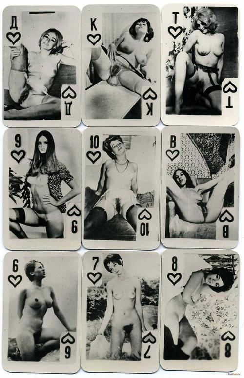 карты с голыми девушками игральные