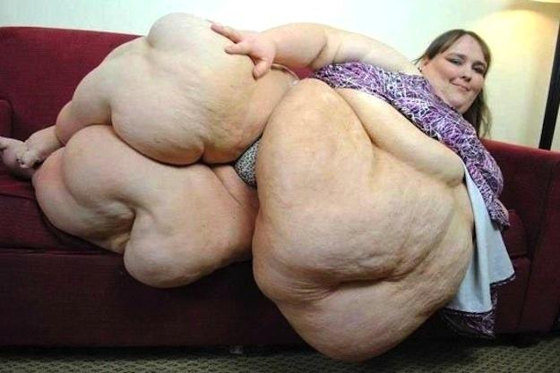 Жирная девка