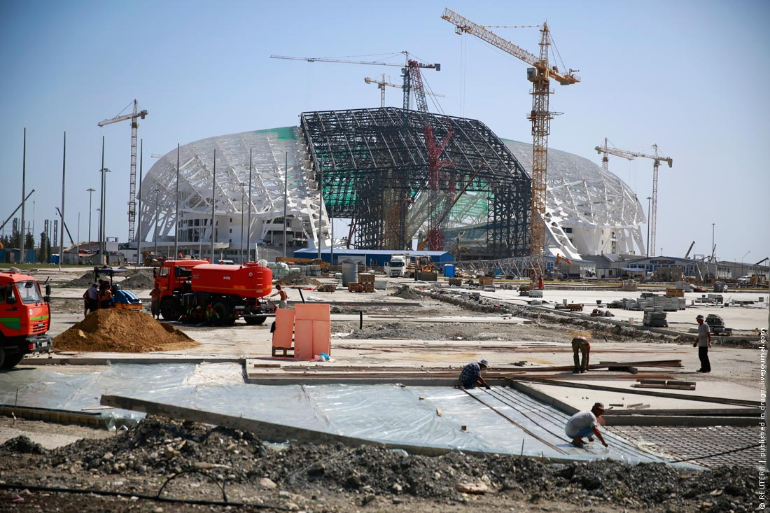 них родился строители олимпийских объектов в сочи фото именем, переводе звучащим