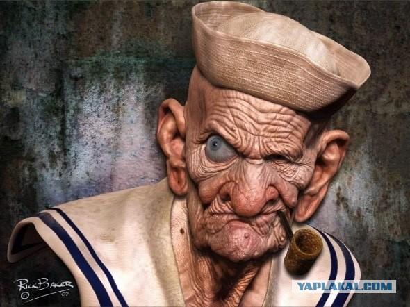 фото моряк папай