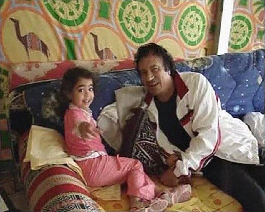 Каддафи муаммар биография с семьей фото