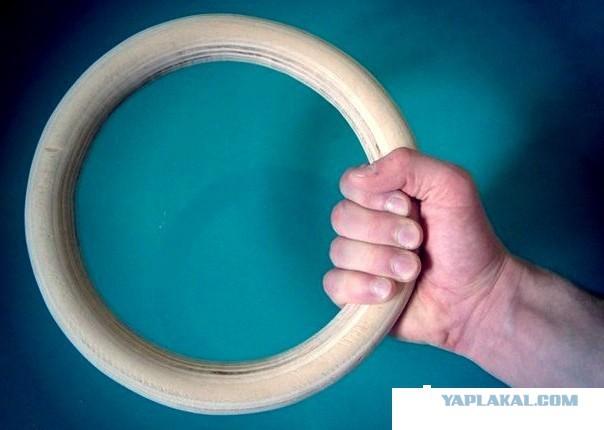Спортивные кольца своими руками