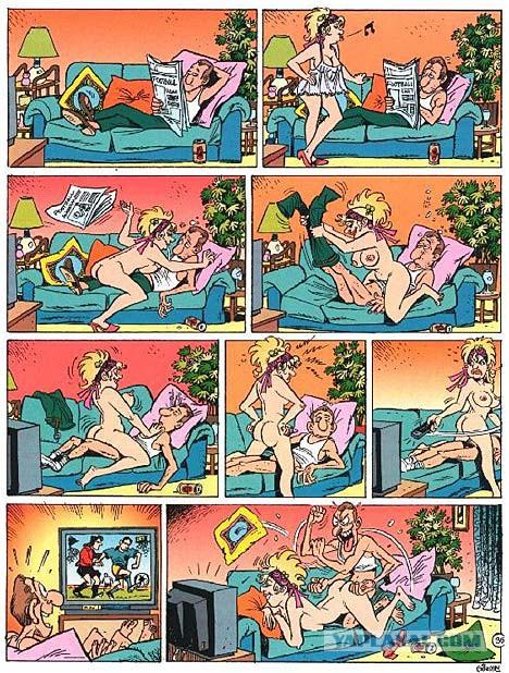 Комикс эро