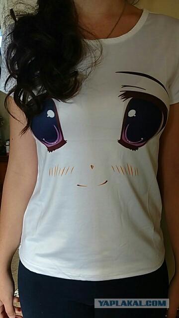 Глазастые футболки .
