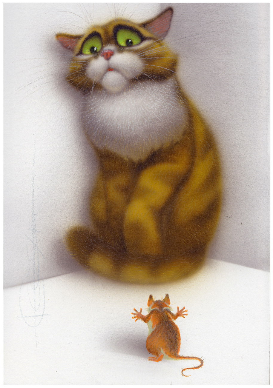 Веселые нарисованные коты