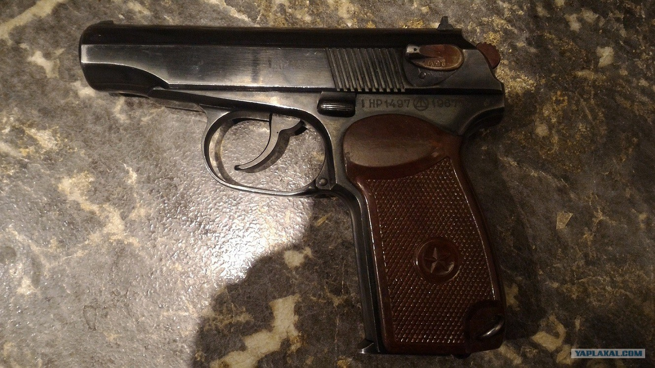 Как сделать пистолет травмат фото 514