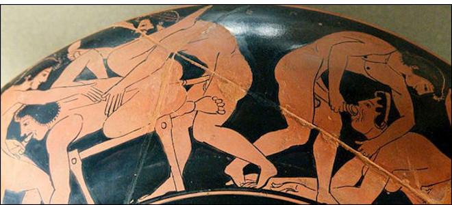 Секс в древнем греции