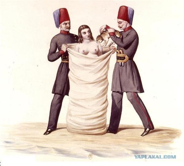 Как раньше наказывали неверных жен фото 724-661