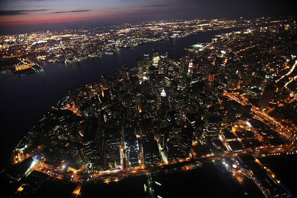 Картинки нью йорк с высоты птичьего полета
