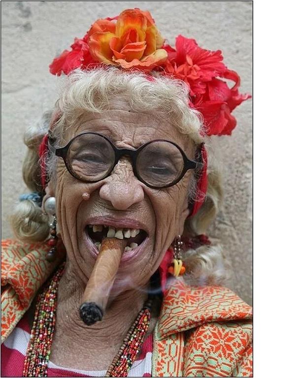 старушка тупо дает - 11