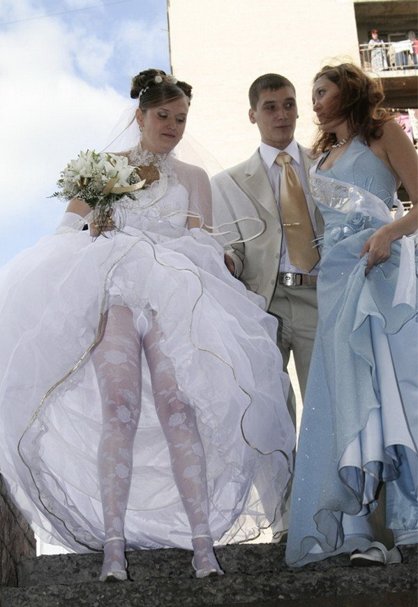 Nude sex at wedding