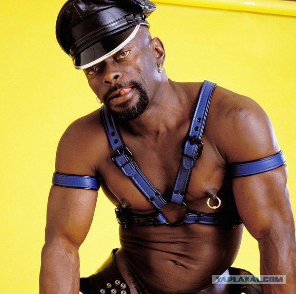 видео черных геев