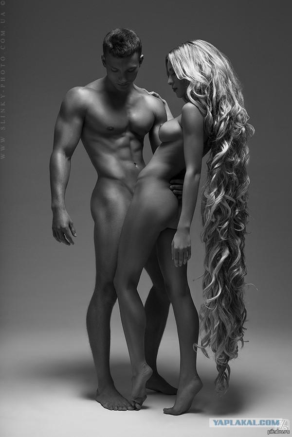 Man woman naked sez