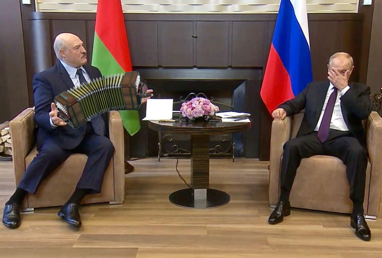 Россия содержит белорусскую диктатуру Лукашенко