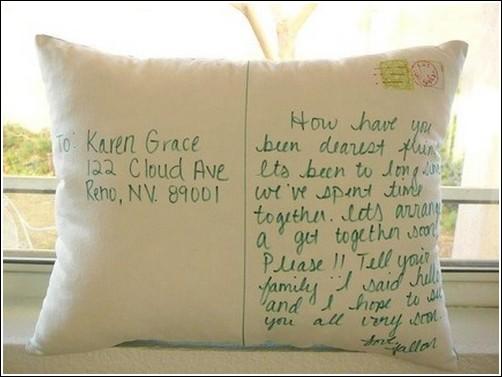 Стихи к подарку подушки на день рождения