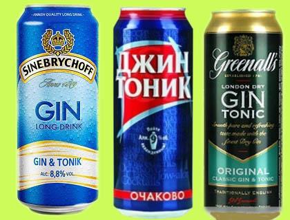 какой тоник пить с джином группы