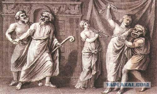 Групповой секс в древней греции