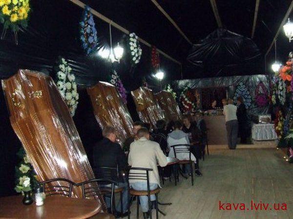 ресторан в виде гроба картинка изображений видео допускается