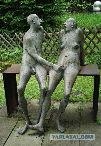 Скульптура в порно