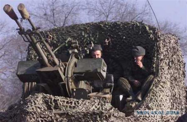 """ЗУ 23-2. """"Полу""""-зенитная установка"""