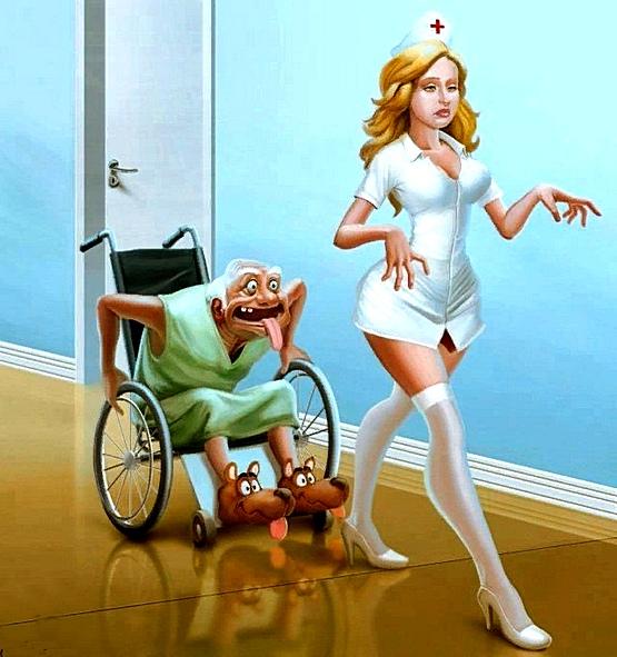 Прикольная картинка медсестра
